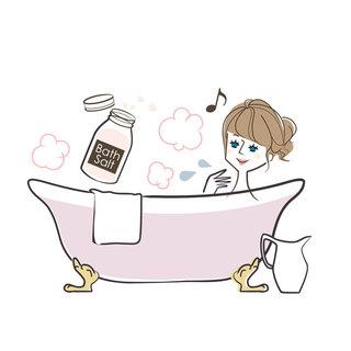 ①デトックス風呂で代謝アップ!