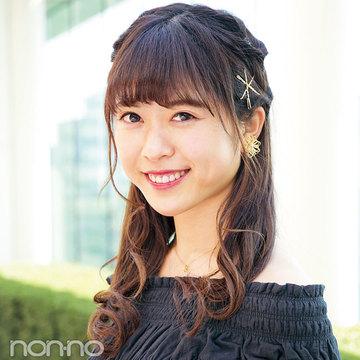 くるりんぱで簡単セルフヘアアレ#non-noカワイイ選抜No.26西田美帆さん