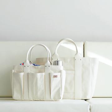 """25年愛され続ける""""シンプルで使いやすい谷中 松野屋のトートバッグ""""【MADE IN JAPANの隠れた名品】"""