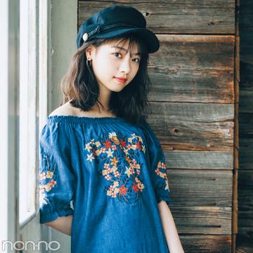 プチプラ♡ 花柄刺繍ワンピ、\2500~でこんなに可愛い!