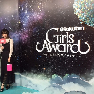 【 第60回❤︎ 】GirlsAward 2017A/W* non-no stage!