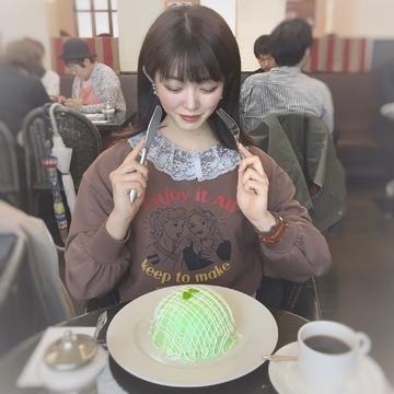 【インスタ映え❤︎】銀座のメロンパンケーキ♡