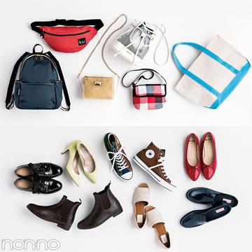 おしゃれで使える最新レイングッズ★かわいい雨靴&撥水バッグ、あります!