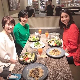 先月の出来事ですが(^-^; 美女組仲間と表参道のオーガニックレストランへ☆_1_5