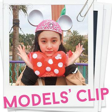 山田愛奈がディズニーシーに出現! 大好物はコレ♡【Models' Clip】