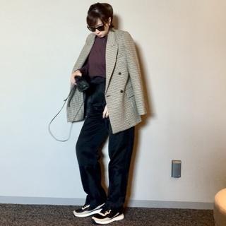 ザ・日本人体型でもワイドパンツは履ける