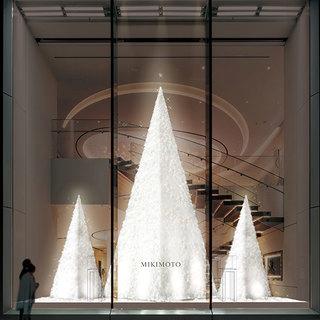 銀座の冬の風物詩が帰ってきた! ミキモト銀座4丁目本店にてクリスマスツリーがスタート