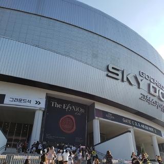 コンサートを見に韓国へ。