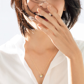 ■パールがモードに昇華した手作りの一点ものネックレス