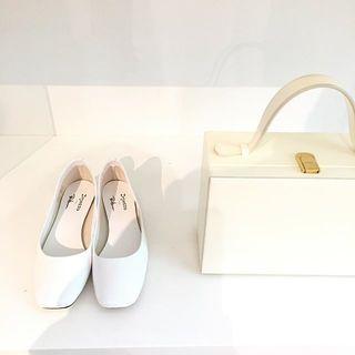 ロンハーマン発、秋冬の真っ白な靴とバッグ