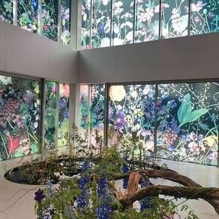 """ヴァン クリーフ&アーペルの展覧会""""ハナの光""""へ行ってきました"""
