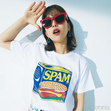 【#渡邉理佐の毎日Tシャツ】7/5は「スパムが発売された日」
