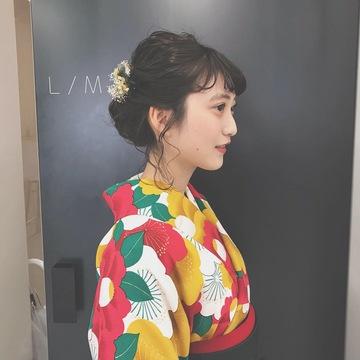 ❁卒業式❁ヘアセット&髪飾り編