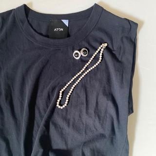 大活躍、ロンハーマンで見つけた'シンプル×クール'な大人Tシャツとピアス♡ _1_2