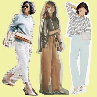 アラフォーのおしゃれがパワーアップする初夏のパンツコーデまとめ|40代ファッション