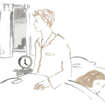 CASE4 あんなに暑がりだった夫なのに、とても冷え症になりました。夏でも必ず羽織ものが必要だったり、冬はパンツの下にくるぶし丈のインナーを着用して出勤するように。前は私のほうが冷え症だったのに……