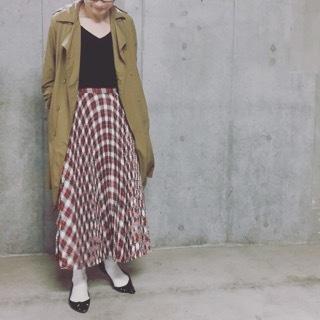 """上質で上品なプリーツスカートは""""Tsuru by Mariko Oikawa""""で得られる☆_1_3"""