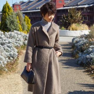 いつものコートを小物一つでアレンジ♪~補足:コートの裏地について~