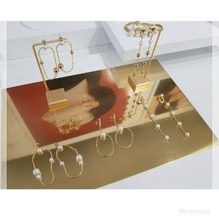 繊細なゴールドとパールが上品なjour couture / ジュール クチュール♡