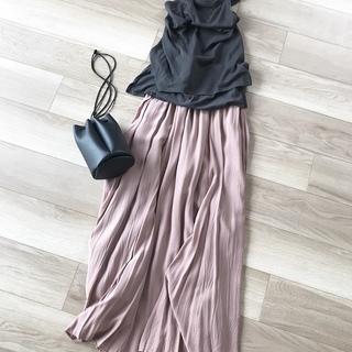 「楽ちん着映え」私が選んだロングスカート【40代 私のクローゼット】