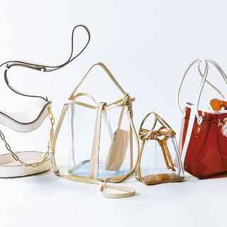 今年は大人にも使いやすいデザインが続々!夏の本命「PVC」バッグ