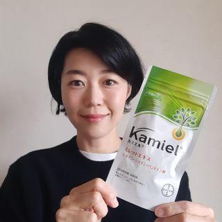 製薬会社サプリ【カミエル】で加齢と共に直面する髪悩みをインナーからケアする!