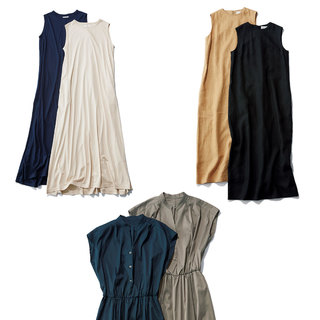 すとんと着るだけで決まるワンピースはやっぱり便利!働くアラフォーのための「大人ワンピース」