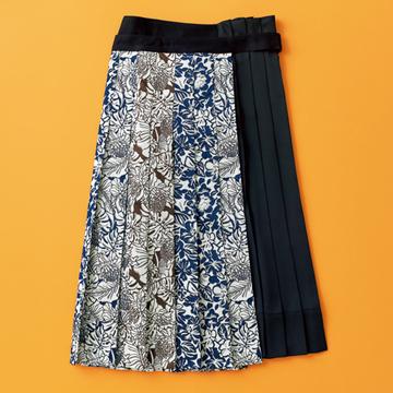 【秋のおしゃれをランクアップする最新アイテム2選】エクラスタッフがひと目惚れしたスカート&ブーツ