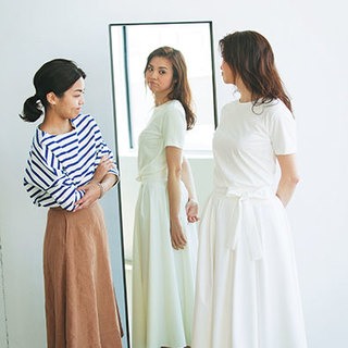 目指せすっきり見せ! 大きめさんのふんわりスカート選び