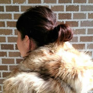 まとめ髪で冬コーデをスッキリと_1_6