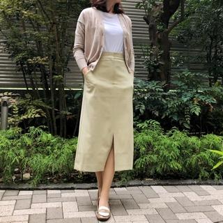 【ユニクロ+J】購入白Tの着こなしオフィスバージョン《ゆっこのファッション》