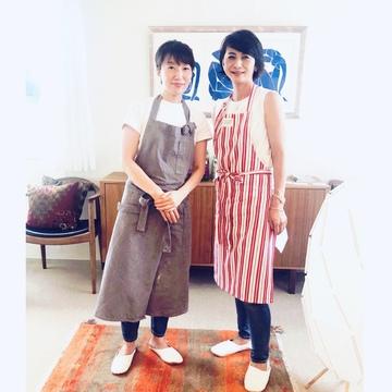 料理研究家・島田まきさんのお料理教室へ