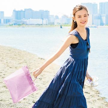 海デートで映える夏バッグ♡ 濡れてもOKのクリア素材8選!