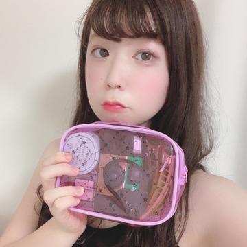 【 non-no 9月号 】 夏にぴったり クリアポーチ !