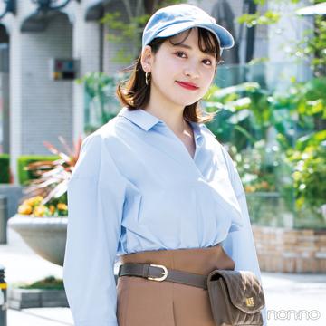 GUの新作トレンド服、ノンノ専属読モはこう着ます。【カワイイ選抜】
