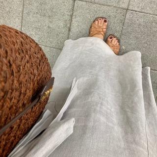 【Chaos】夏のリネンスカート