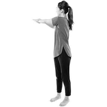 【1日5分 首コリ改善ストレッチ③】ガチガチ背中のストレッチで柔軟性アップ!