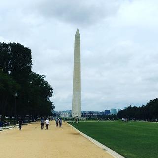 ワシントンにて、友人と会う!