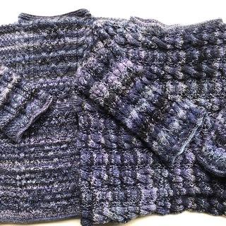 心まで温かになる手編みのセーター