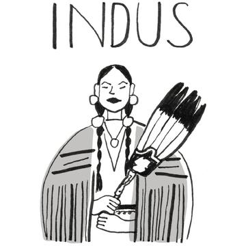 銀のインディアン
