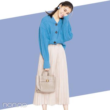 この秋モテたいなら♡ 女っぽニット×プリーツスカート!【秋冬トレンド服の正解コーデ教えます】