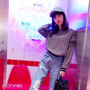 鈴木優華の韓国っぽプチプラ女子旅スタイル【毎日コーデ】