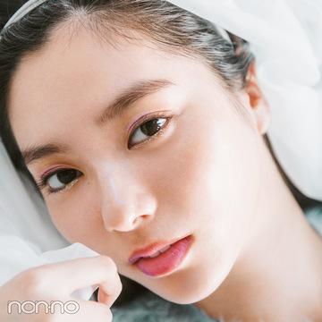 新川優愛のコスパでトレンドメイク♡ ジュエルなラベンダーはこう使う!