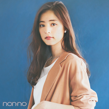 #新木優子のサバフェミニンなオフィスコーデをもっと見る