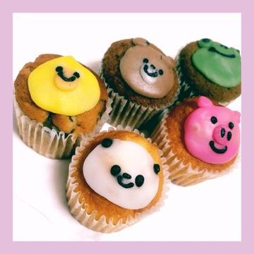 【Fairycake Fair】BAEカワイイ!♡アニマルカップケーキ♡