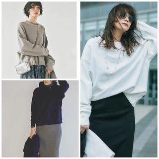 スウェットはきれいめにも着られる!アラフォーのスウェットコーデまとめ|40代ファッション