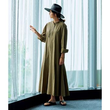 着こなしやすい袖にアレンジ「GALLARDAGALANTE×éclat」のシャツワンピース