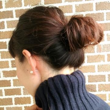 まとめ髪で冬コーデをスッキリと_1_3