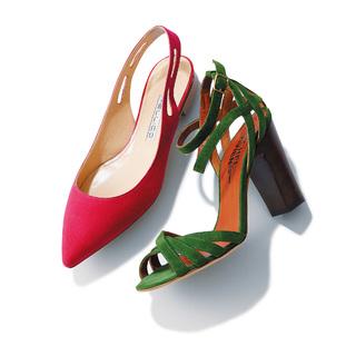 新しい靴、履きたくない? 春のシューズ、3スタイル