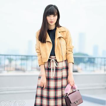 新川優愛がお手本! 今から真冬までフリル袖トップスを可愛く着る方法